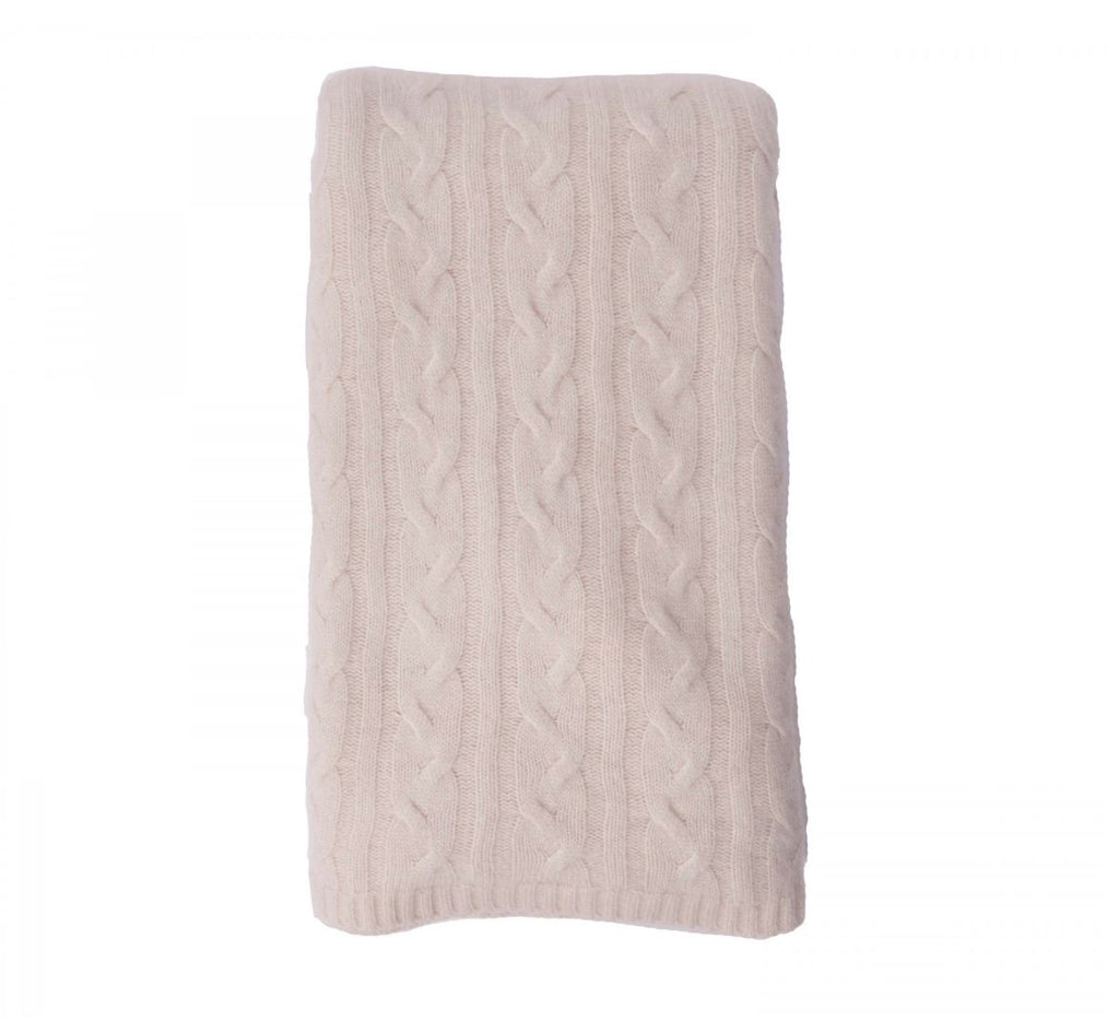 100% Cashmere Throw - Snow 229