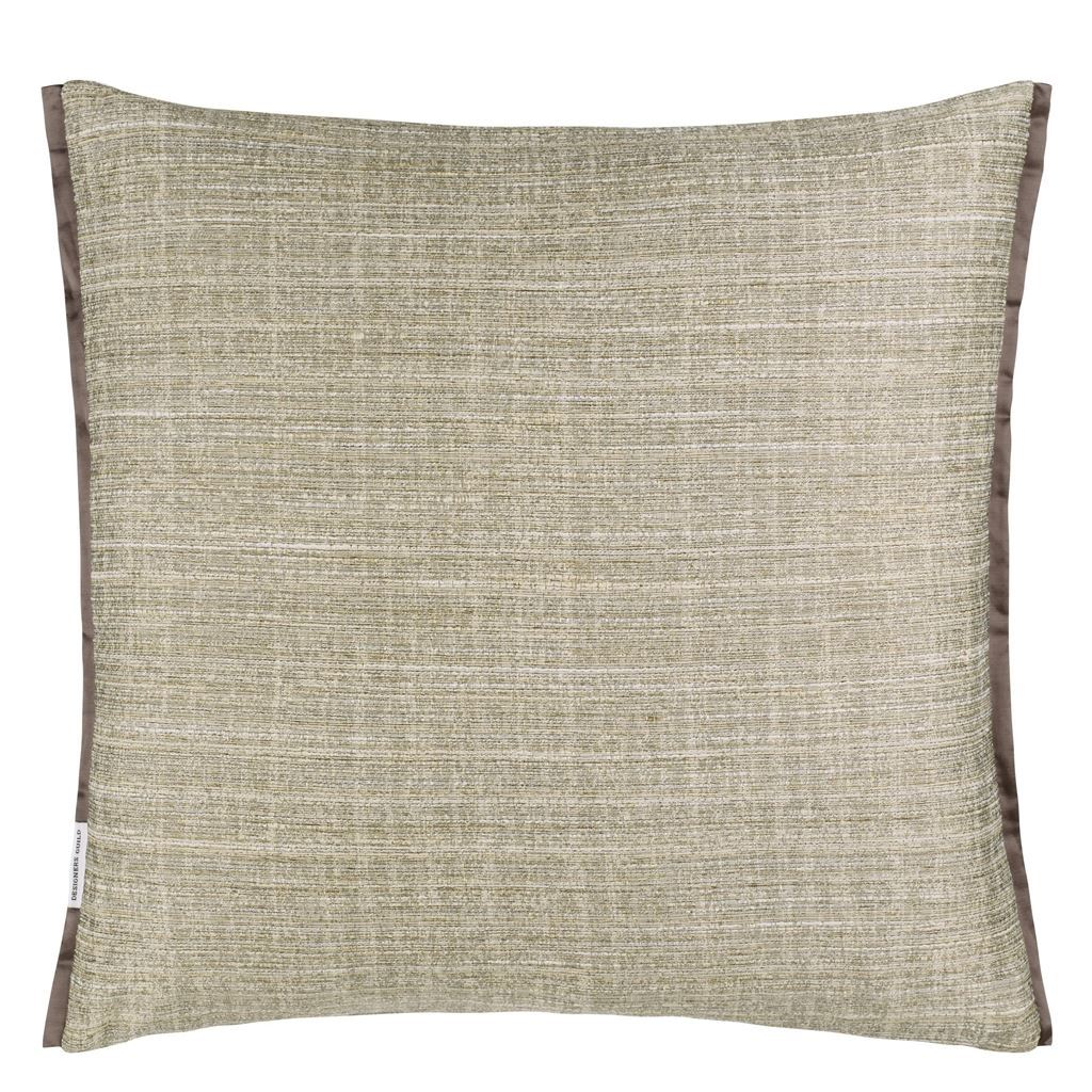 Designers Guild Manipur Oyster Decorative Pillow Reverse
