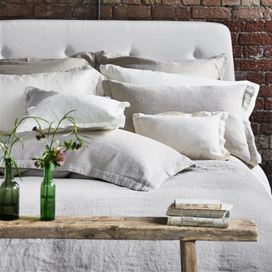 Biella Ivory Bedding by Designers Guild