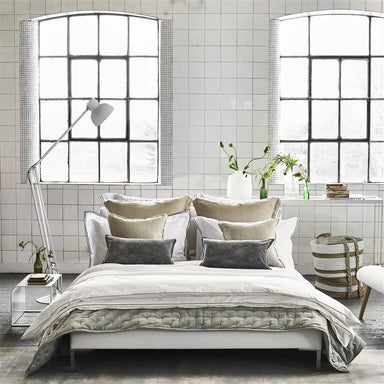 Designers Guild Biella Linen Birch Bedding | Fig Linens