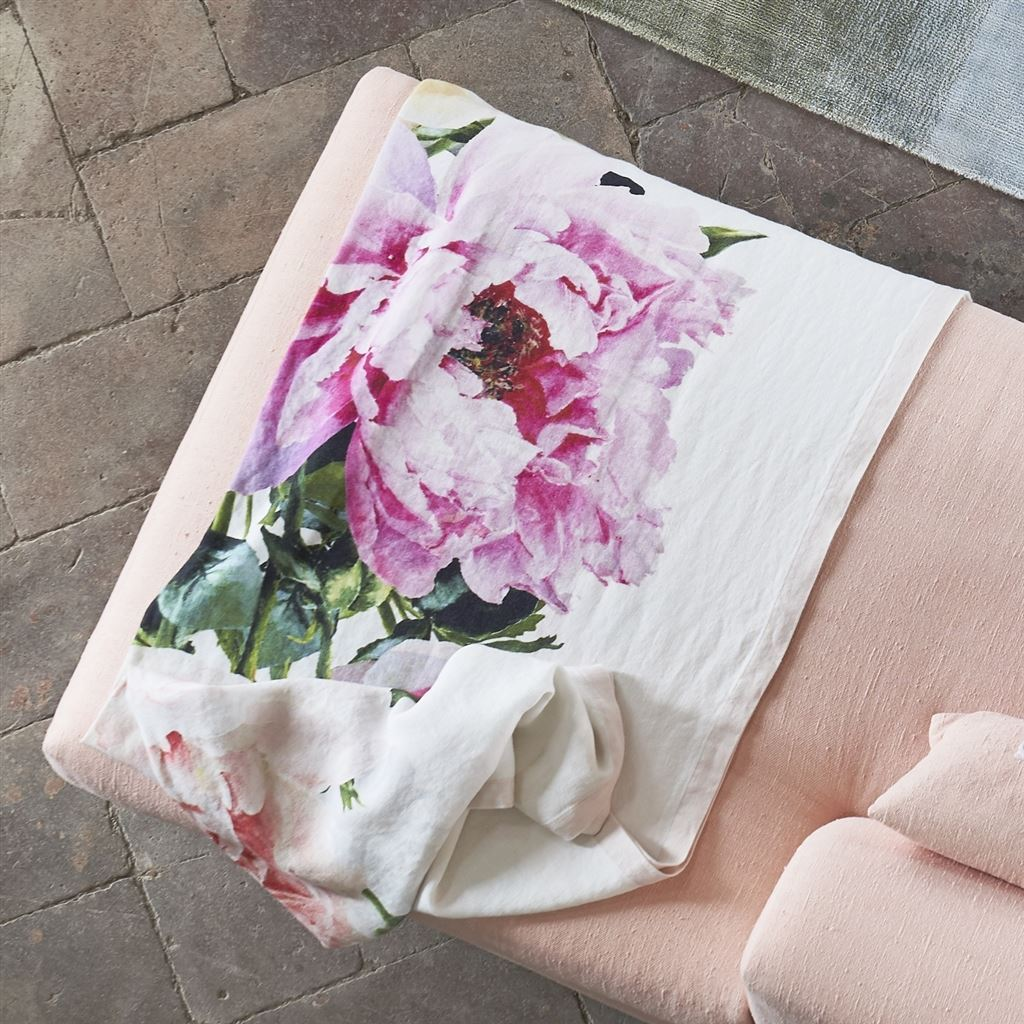 Fig Linens | Tourangelle Peony Throw