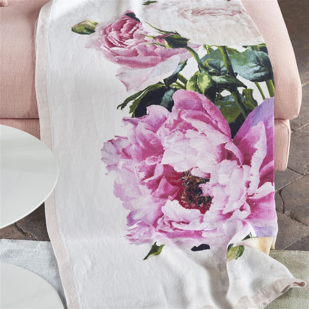 Tourangelle Peony Throw at Fig Linens