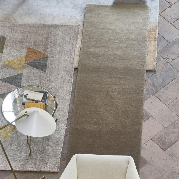 Padua Natural Runner on Floor - Designers Guild