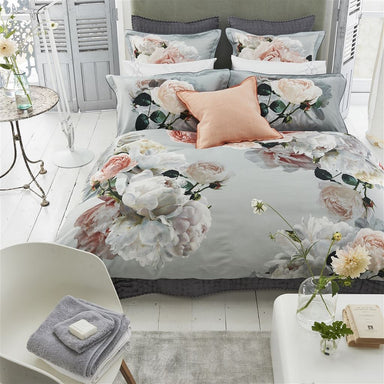 Peonia Grande Zinc Bedding by Designers Guild - Fig Linens and Home