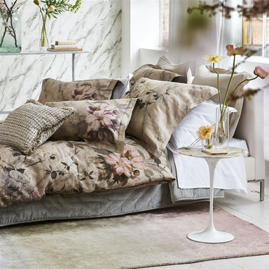 Designers Guild Carrara Fiore Cameo Bedding | Fig Linens