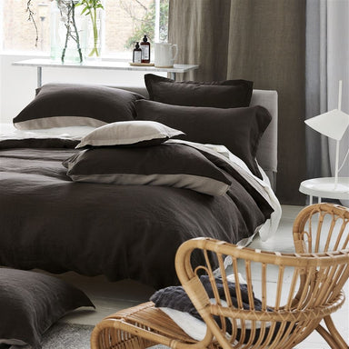 Designers Guild Biella Espresso & Birch Bedding