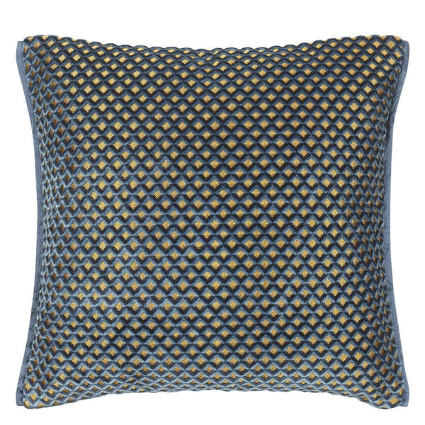 Portland Delft Decorative Pillow | Designers Guild at Fig Linens