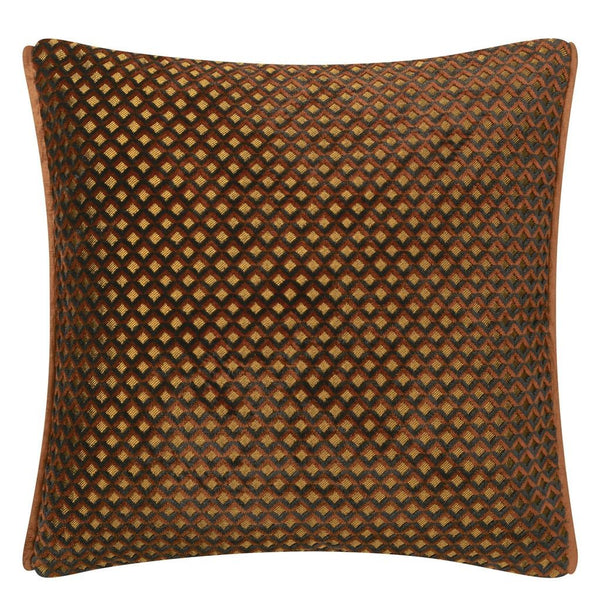 Designers Guild at Fig Linens | Portland Terracotta Decorative Pillow