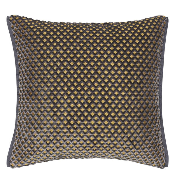 Portland Graphite Decorative Pillow | Designers Guild