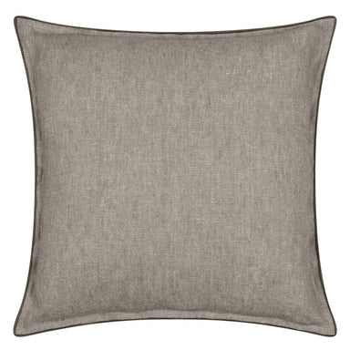 Designers Guild - Brera Lino Espresso & Cocoa Decorative Pillow | Fig Linens