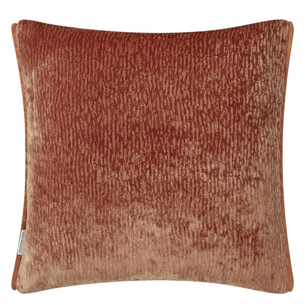 Portland Terracotta Decorative Pillow Reverse of Cushion