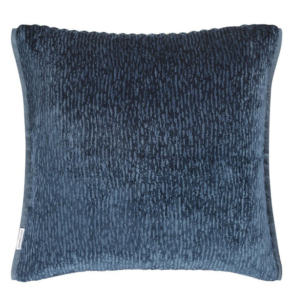 Portland Delft Decorative Pillow in Reverse | Designers Guild at Fig Linens