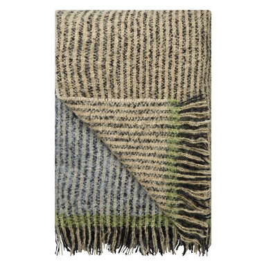 Designers Guild Katan Espresso Throw - Folded