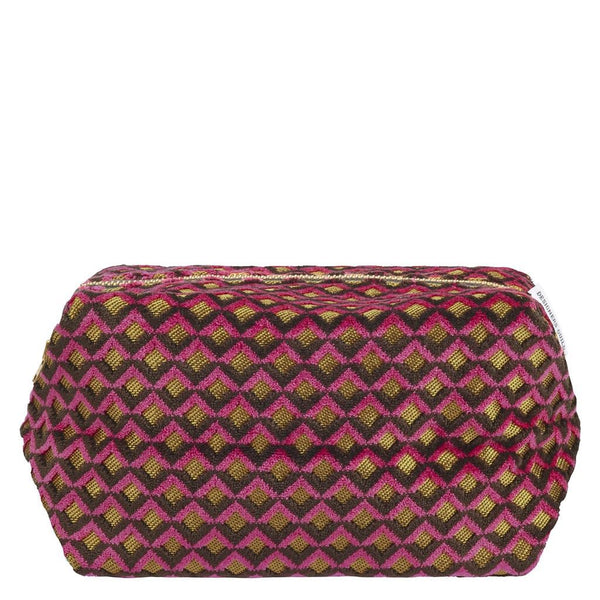 Portland Raspberry Large Toiletry Bag