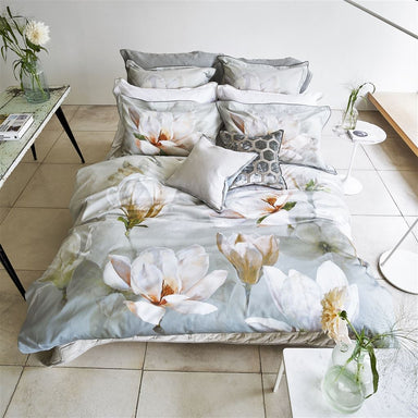 Designers Guild Yulan Birch Bedding | Floral Duvet Covers & Shams