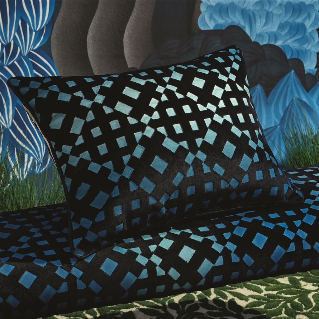 Soft L'Aveu Ruisseau Decorative Pillow | Designers Guild & Christian Lacroix