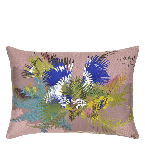 Oiseau Fleur Bourgeon Decorative Pillow