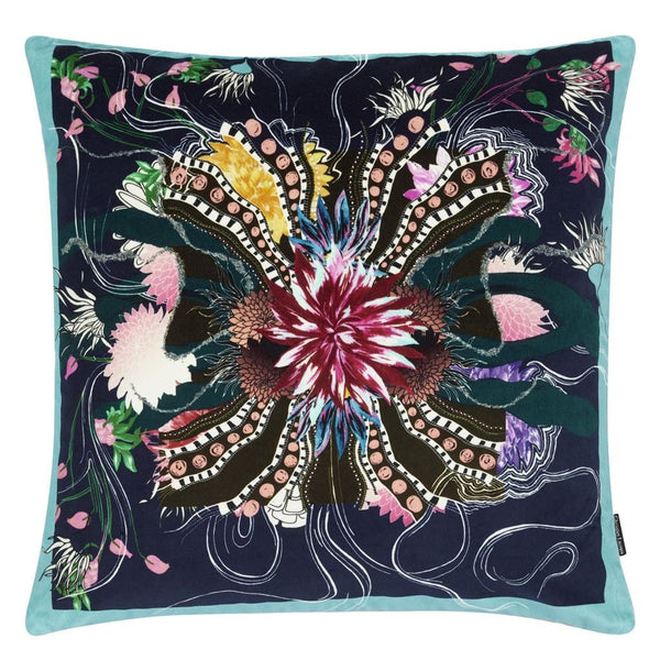 Christian Lacroix Ocean Blooms Ruisseau Decorative Pillow