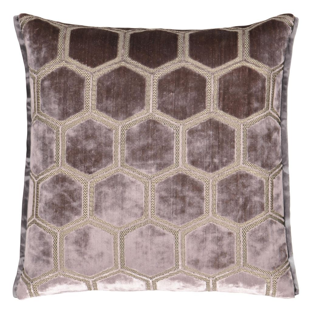 Manipur Amethyst Decorative Pillow by Designers Guild