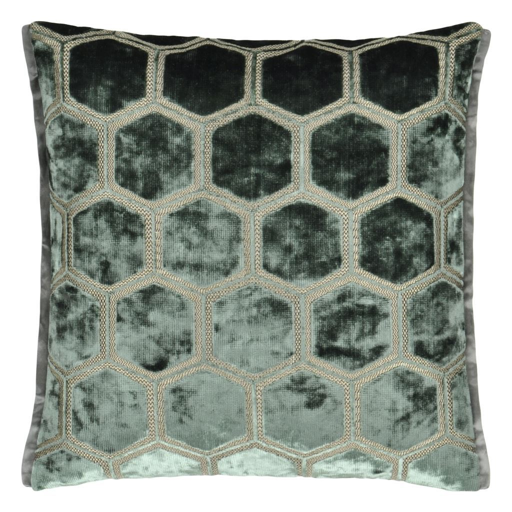 Manipur Jade Decorative Pillow by Designers Guild