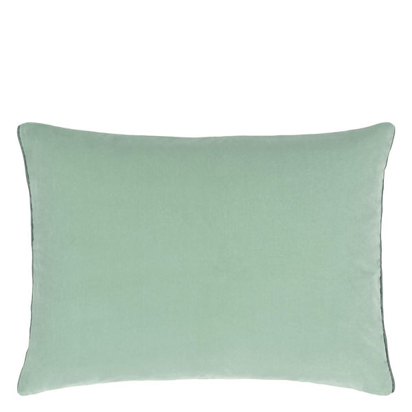 Cassia Celadon & Mist Decorative Pillow by Designers Guild