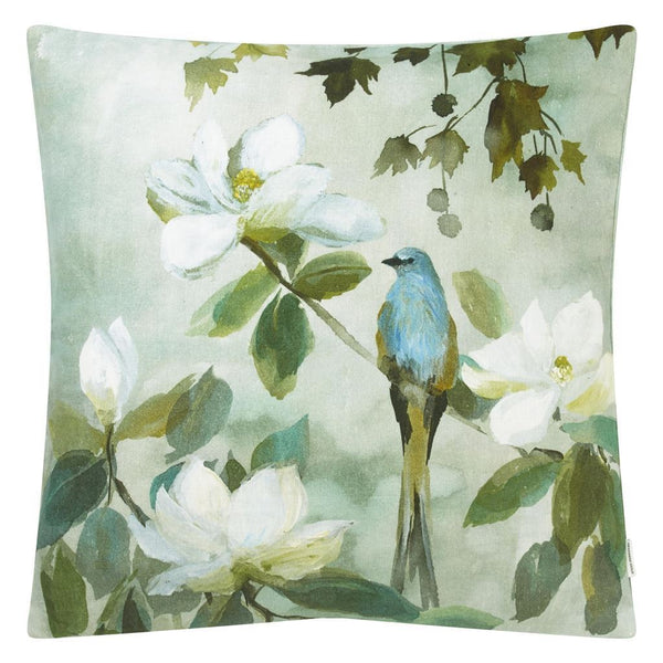 Kiyosumi Celadon Decorative Pillow | Designers Guild at Fig Linens and Home