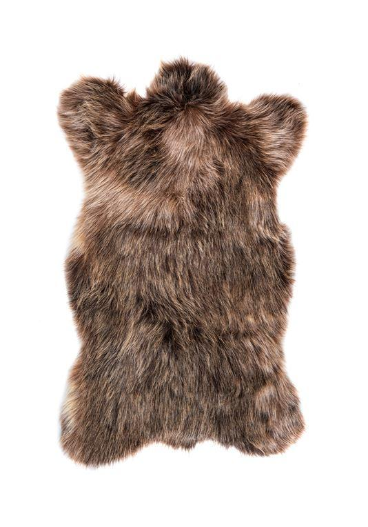 Sienna Bear Faux Fur Chair Cover - Fig Linens and Home