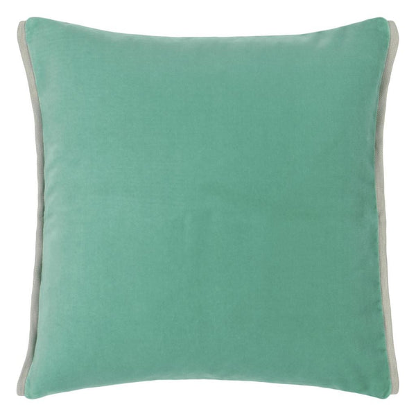 Varese Pale Jade & Celadon Decorative Pillow | Designers Guild