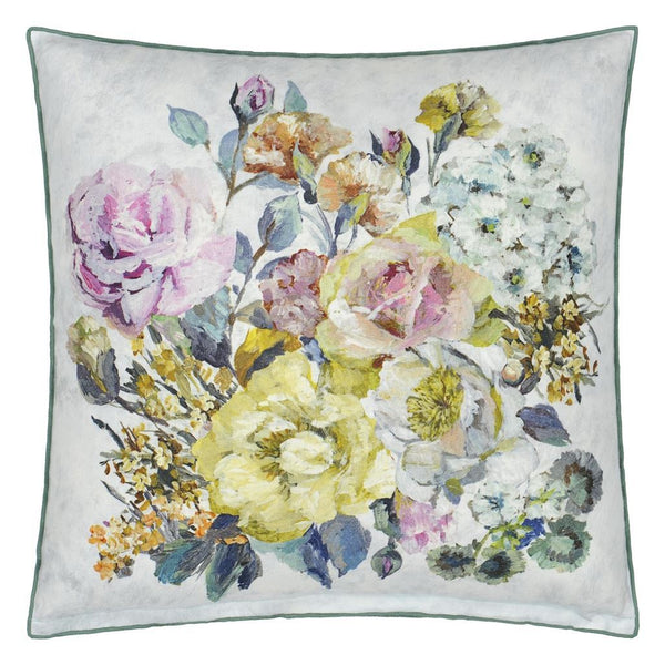 Grandiflora Rose Dusk Decorative Pillow by Designers Guild