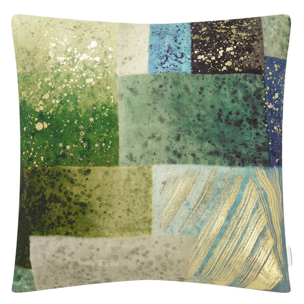 Parterre Geo Emerald Decorative Pillow by Designers Guild