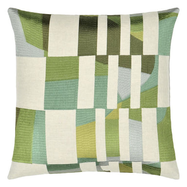 Designers Guild Glasshouse Celadon Cushion | Fig Linens