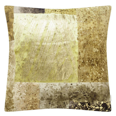 Parterre Geo Turmeric Decorative Pillow by Designers Guild