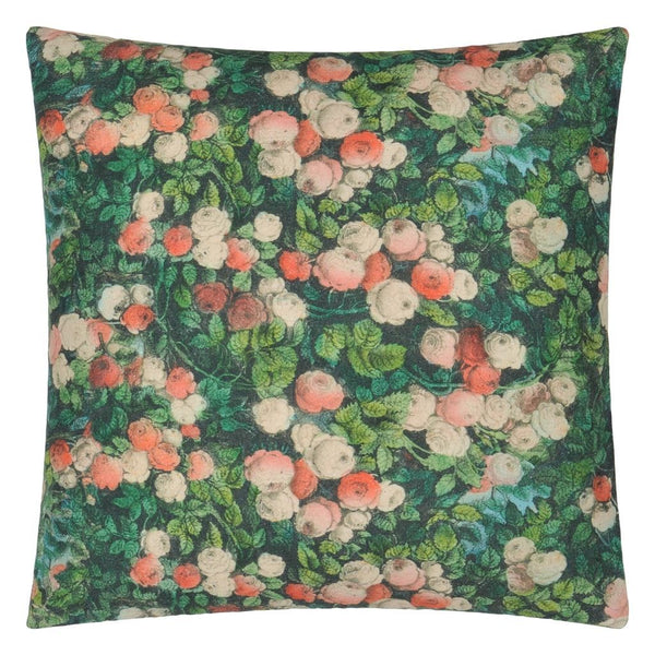 John Derian Love Forest Reverse to Floral | Designers Guild Pillow at Fig Linens