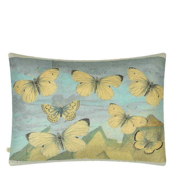 John Derian Elephant's Trunk Sky Decorative Pillow | Designers Guild at Fig Linens