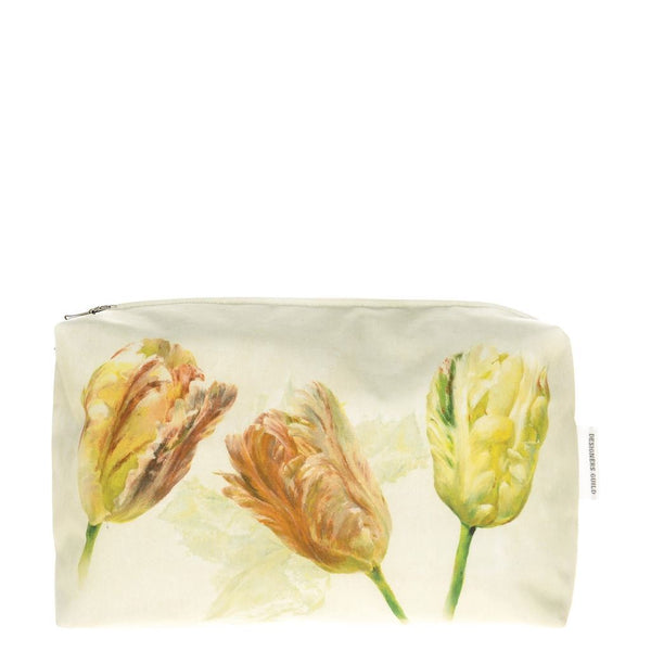 Spring Tulip Buttermilk Medium Toiletry Bag
