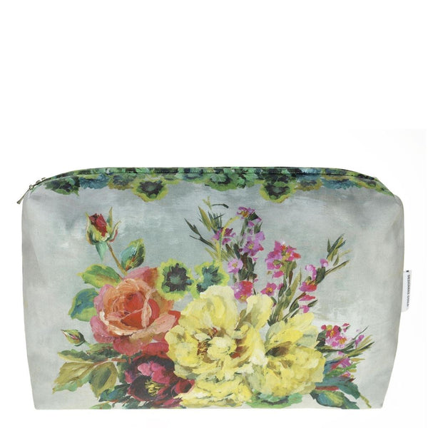 Designers Guild Grandiflora Rose Epice Large Toiletry Bag
