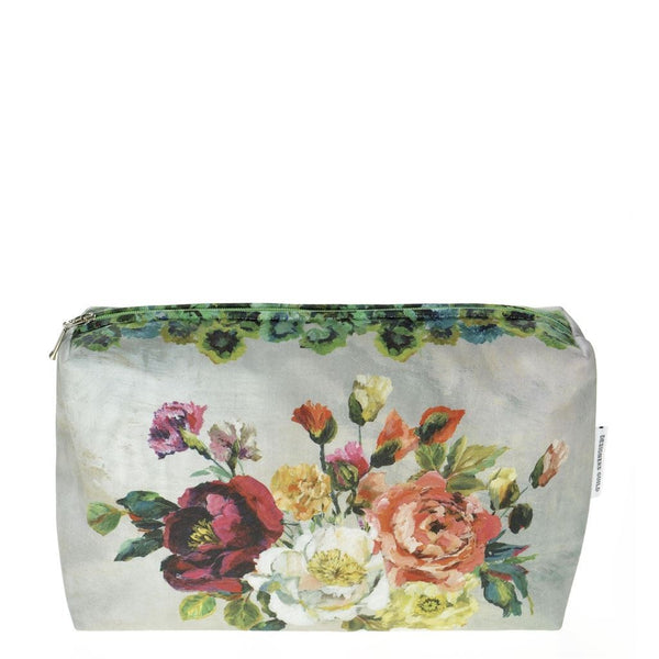 Grandiflora Rose Epice Medium Toiletry Bag - Designers Guild