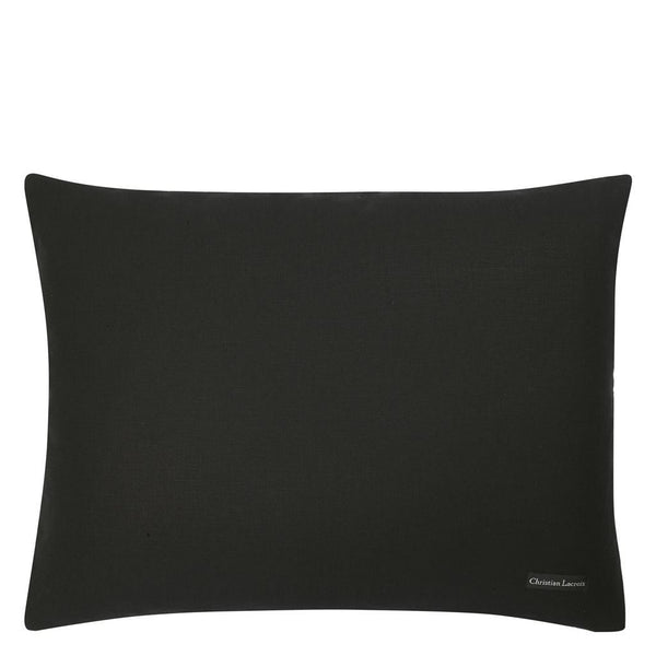 Christian Lacroix Wisteria Alba Ruisseau Pillow | Solid Reverse in Satin