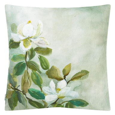Designers Guild Kiyosumi Celadon Pillow Reverse | Fig Linens and Home
