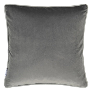Designers Guild Corda Primrose Decorative Pillow - Grey Graphite Reverse