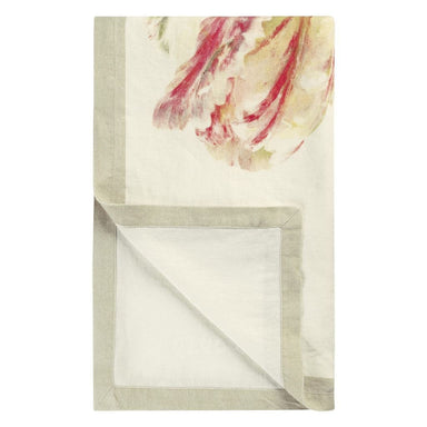 Designers Guild Spring Tulip Buttermilk Throw | Fig Linens and Home