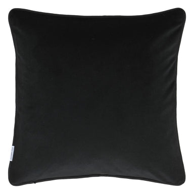 Designers Guild Corda Chalk Decorative Pillow - Reverse to Noir Velvet