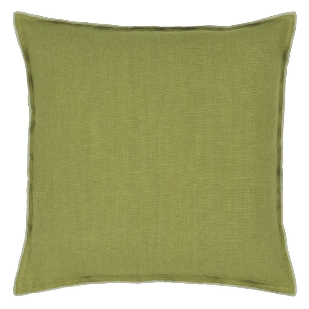 Designers Guild Brera Lino Pistachio & Moss Decorative Pillow
