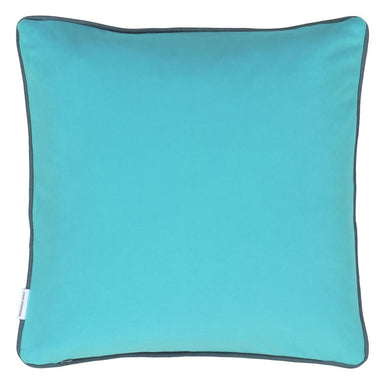 Designers Guild Corda Apple Pillow - Reverses to Turquoise