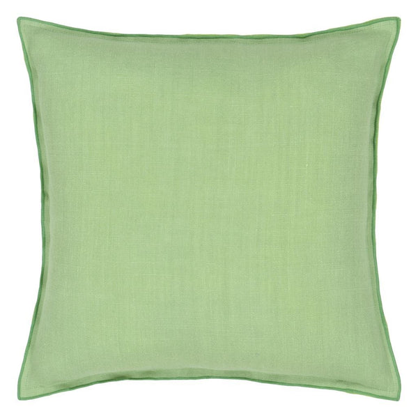 Designers Guild Brera Lino Verdigris & Apple Decorative Pillow