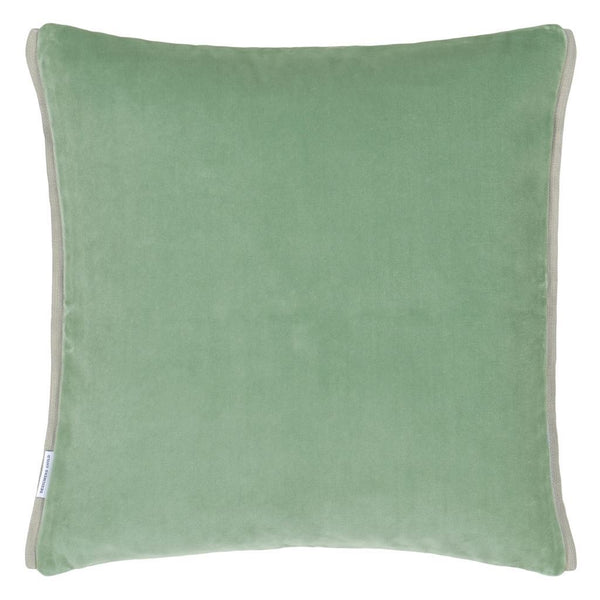 Designers Guild Varese Pale Jade & Celadon Decorative Pillow at Fig Linens