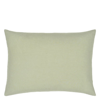 Hollyhock Celadon Reverse of Pillow  | Designers Guild at Fig Linens and Home