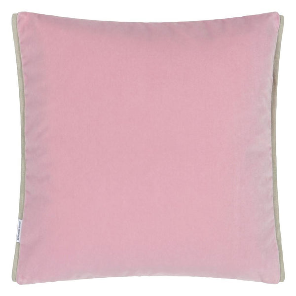 Designers Guild Varese Magenta & Blossom Decorative Pillow Reverse Pink