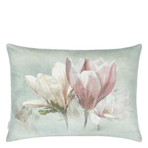 Designers Guild Yulan Magnolia Decorative Pillow Reverse