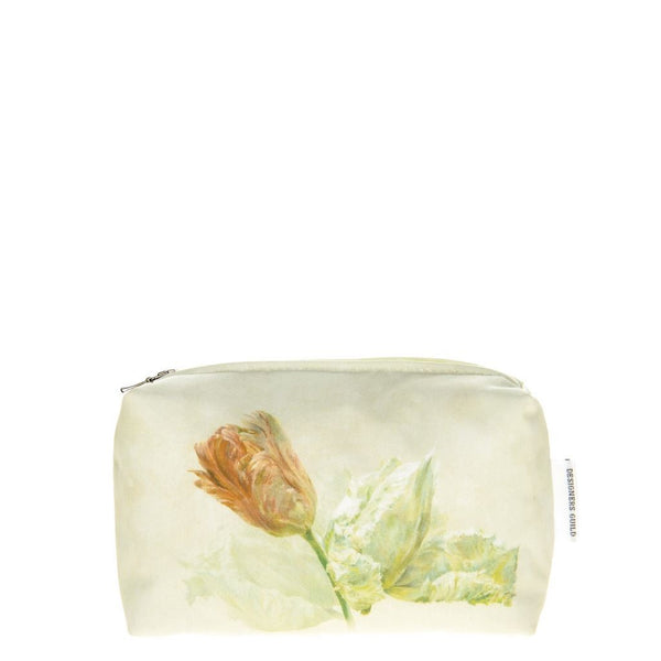 Designers Guild Spring Tulip Buttermilk Small Toiletry Bag